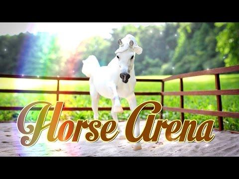 DIY - How to Make: Doll Arena | Breyer Horse Arena | Schleich Horse Arena - Handmade - Doll - Crafts