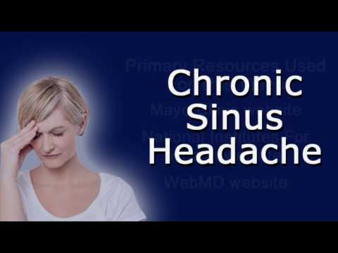 Chronic Sinus Headache