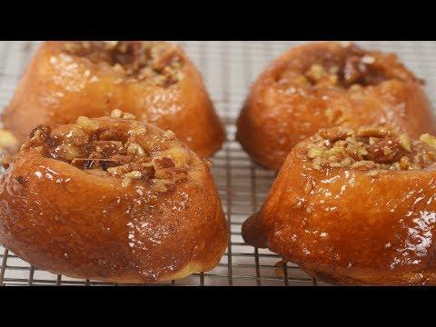 Sticky Buns Recipe Demonstration - Joyofbaking.com