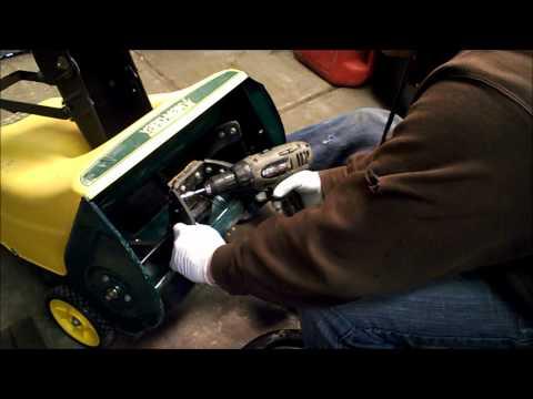 Craftman & MTD snow blower paddle replacement