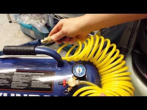 Refill air tank
