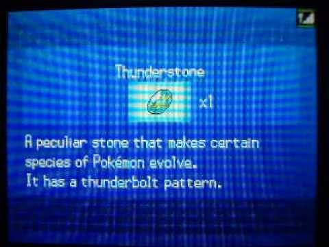 Pokemon Black/White - How to get Thunderstone + Drilbur
