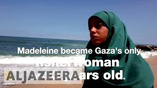 Gaza's First Fisherwoman