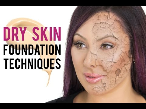 Best Foundation Techniques for Dry Skin | Pretty Smart