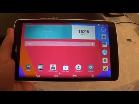 How to change language on LG G Pad 8.0 V490