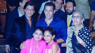 (VIDEO) Shah Rukh Khan Salman Khan Meet And Greet Again - Arpita Khan Reception Party