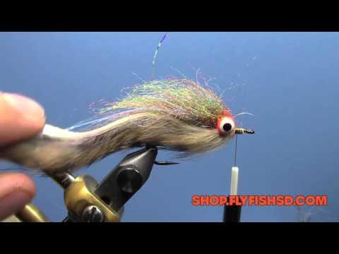 Fly Tying   Ryan's Simple Rabbit Strip Streamer