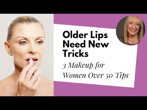 Makeup for Women Over 60: Older Lips Need New Makeup Tricks!
