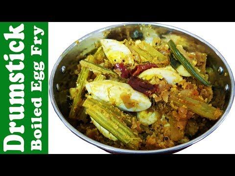 Veeramachaneni Ramakrishna Sir Food Diet Drumstick Boiled Egg Fry | Vrk Healthy Diet Cooking Recipes