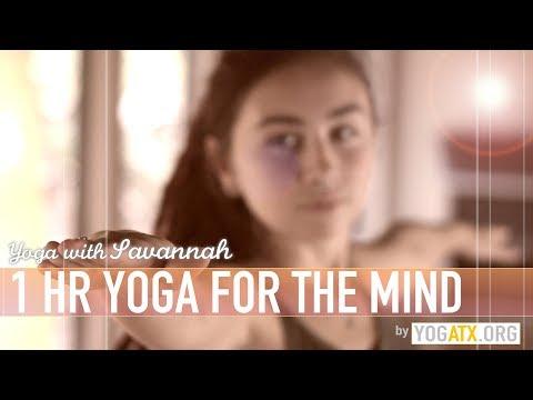 Savannah's 1HR Yoga For The Mind TRAILER