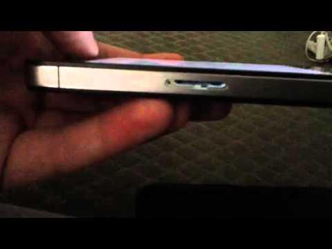 Apple iPhone 4S Verizon No SIM Card Demonstration