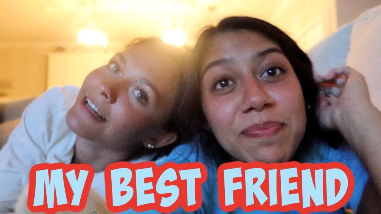 MY BEST FRIEND IS BACK! DAY 1 VLOG! EMMA AND ELLIE