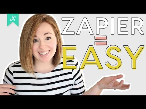 Zapier Tutorial   How to Automate Tasks and STOP WASTING TIME!