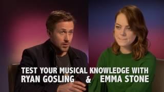 RYAN GOSLING VS EMMA STONE! Guess The Musical Quiz!