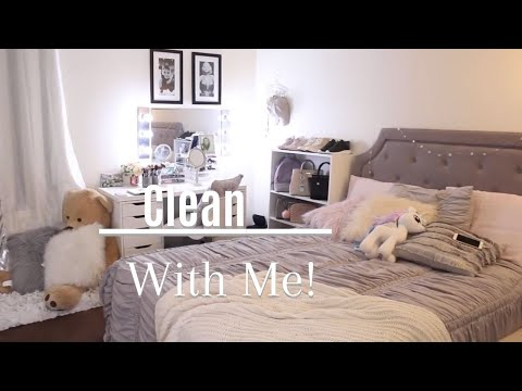 Clean With Me| Bedroom tour