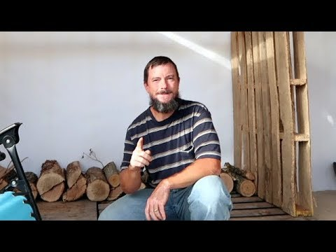 How To Build A FREE Pallet Firewood Holder