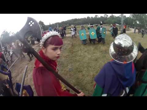 LARP Battle footage - Swordcraft quest April 2017