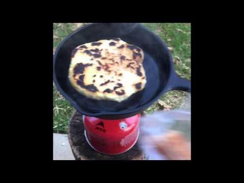 Bannock bread & Sausage