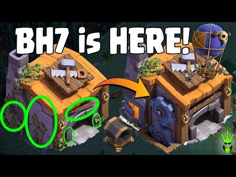 BH7 IS HERE! - NEW TROOPS & NEW DEFENSE!! - Drop Ship Minion Attack! - Clash of Clans! - BH Update