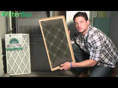 How to properly change your furnace ac air filter. FilterBuy.com.