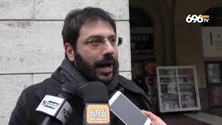 """Rifiuti, sit-in del M5S: """"Il governatore si dimetta"""""""