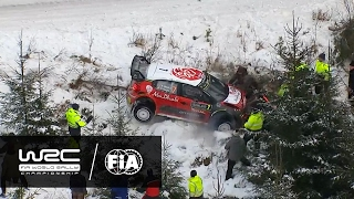 WRC - Rally Sweden 2017: HIGHLIGHTS Stages 13 - 15