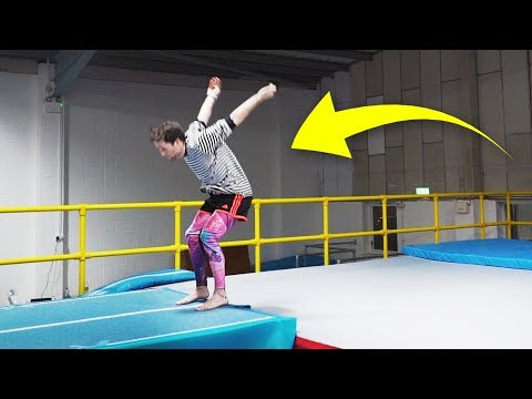 DOUBLE BACKFLIP FROM STANDING!