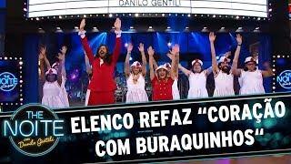Elenco refaz sucesso do Chiquititas com Carla Diaz   The Noite (19/07/17)