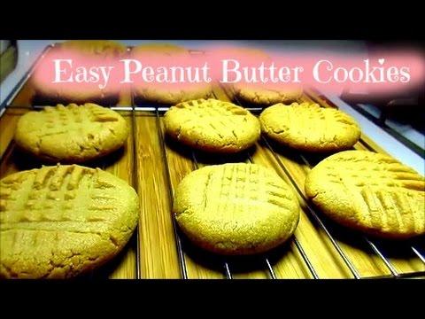 Easy Peanut Butter Cookie Recipe