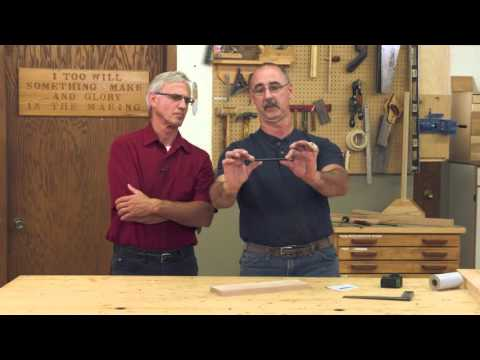 Q&A with George: Finish for Kitchen Tables & Precise Cutting