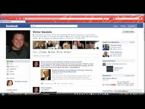 How to Create a Facebook Friend List- Part One