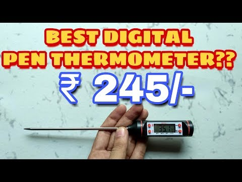 BEST DIGITAL FOOD THERMOMETER | KITCHEN THERMOMETER UNBOXING TESTING AND REVIEW
