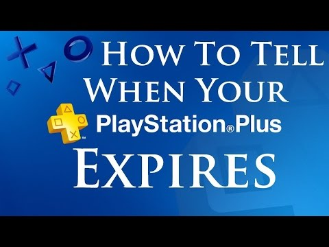 How To Check Expiry Date on PlayStation Plus Account PS4 Quick and Easy to To