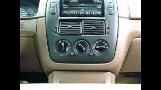 02 Ford Explorer Heat Blend Door Actuator Simple Fix - No Tools Needed