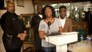 Mother of slain Brighton teen speaks