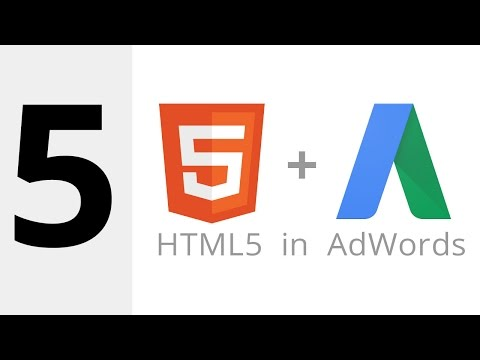 Creating an HTML5 Ad for AdWords (Demo)