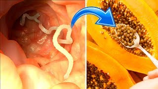 How to Banish Parasites with Papaya Seeds