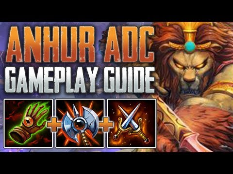 Xxx Mp4 Anhur ADC Gameplay Guide My Favorite Hunter SMITE A Z Conquest 3gp Sex