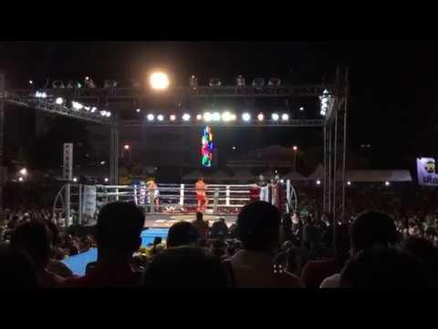 มวยไทย ศึกวันพรัญชัย คู่ที่ 6 โดมทอง ลูกเจ้าพ่อโรงต้ม VS สะแกงาม จิตรเมืองนนท์