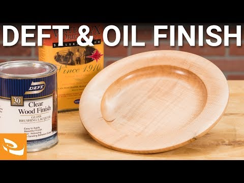 Dale Nish Finishing Process | Deft and Oil Finish Woodturning How-to