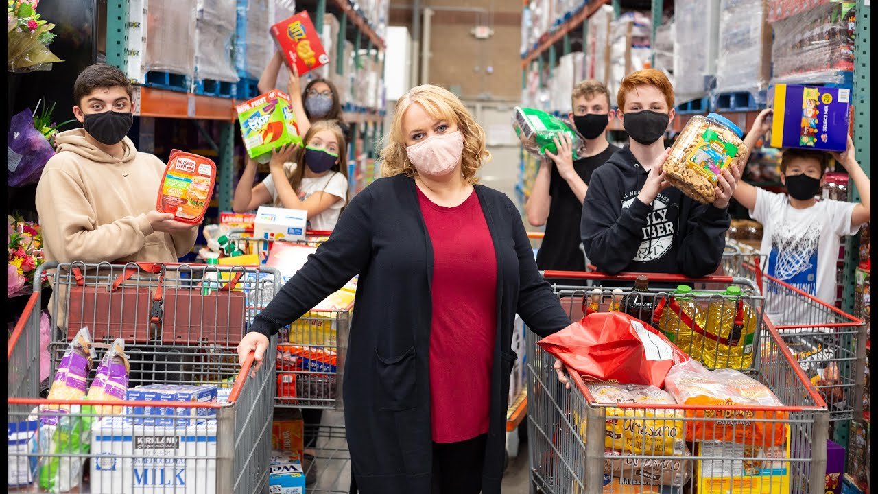 Big Family Grocery Haul | Costco | How Much Did It Cost?