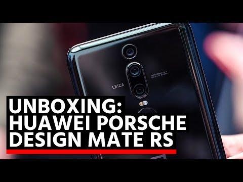 Unboxing: Huawei Porsche Design Mate RS