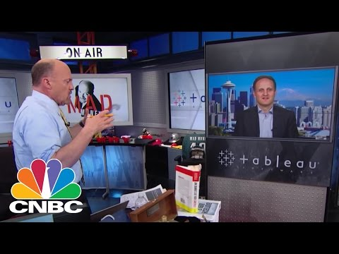 Tableau Software CEO: From Baseball to Liquor | Mad Money | CNBC