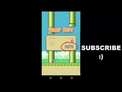 How to Cheat Flappy Bird Game for High Score