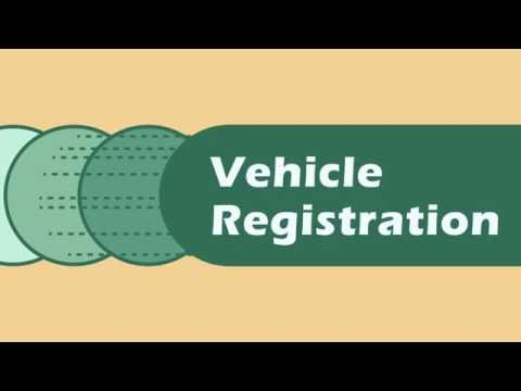 Renewing Your Vehicle Registration