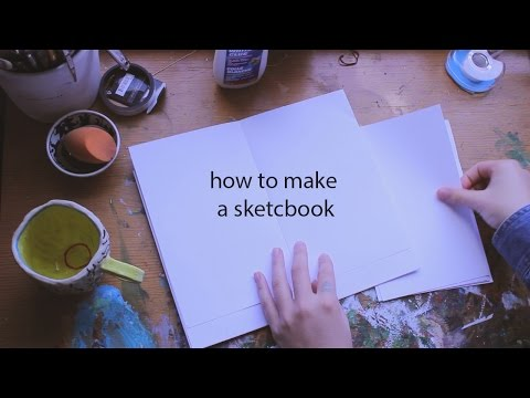 How to make a Sketchbook