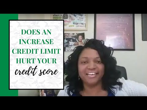 Does an increase credit limit hurt your score