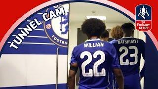 Tunnel Cam - Chelsea vs Tottenham Hotspur - Emirates FA Cup Semi-Final   Inside Access
