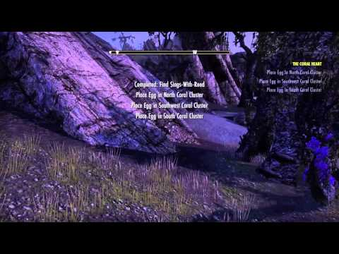 The Elder Scrolls Online console beta The coral heart