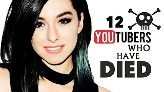 12 YouTubers Who Passed Away   2016 Update
